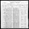 1900 Federal Census of West Virginia, Fayette County, Powellton