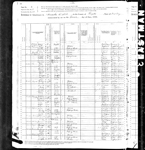 1880 Federal Census of West Virginia, Fayette County, Kanawha District
