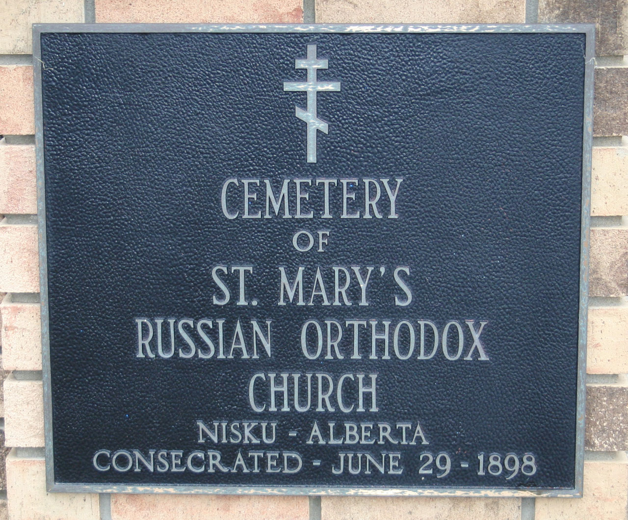 St. Mary's Russian Orthodox Cemetery